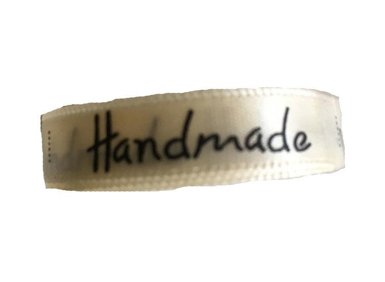 Tygetikett Handmade