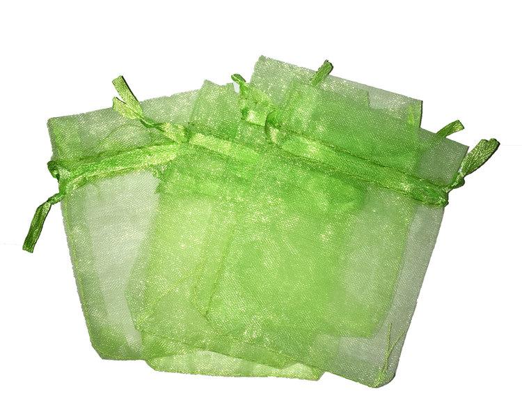 Organzapåsar grön