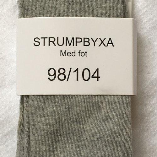 Strumpbyxor grå stl 86/92-146/152