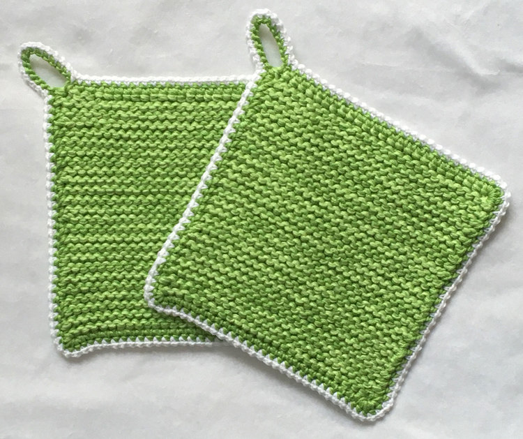 Gröna grytlappar