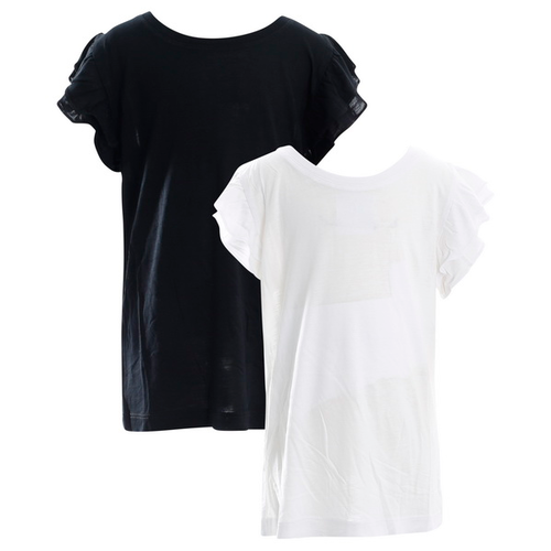Topp svart, vit stl 122/128-170