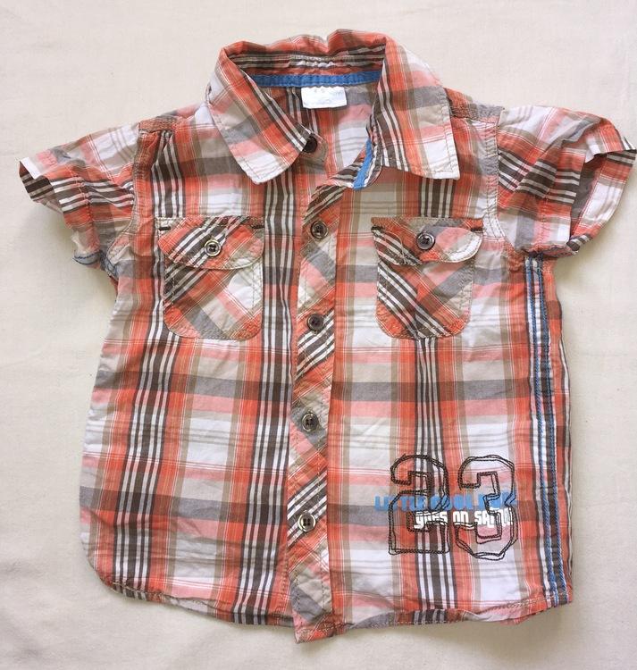 Rutig skjorta stl 86