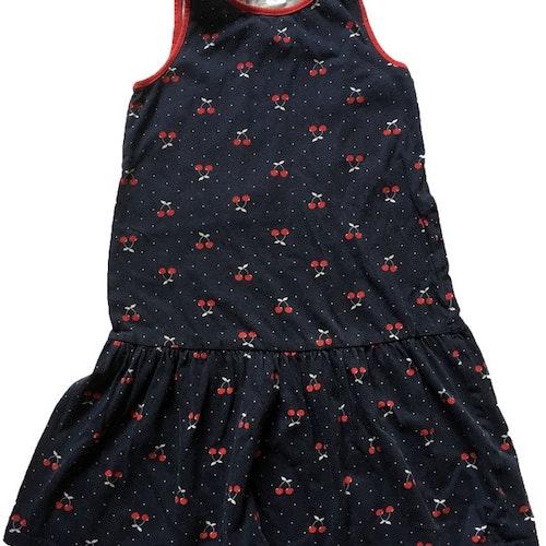 Mörkblå klänning stl 122/128