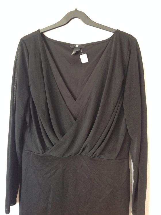 Svart klänning stl M