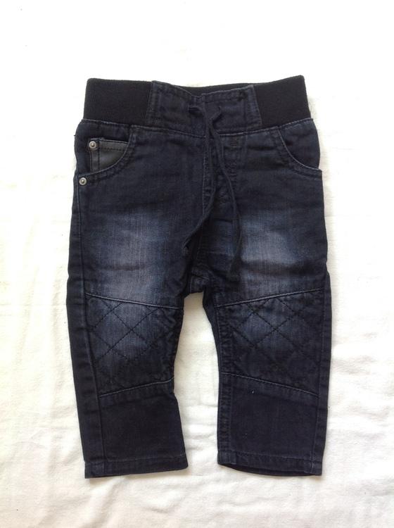 Svarta jeans stl 62