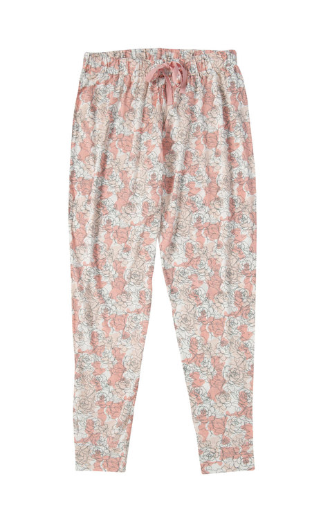 Blommiga pyjamasbyxor stl S-XXL