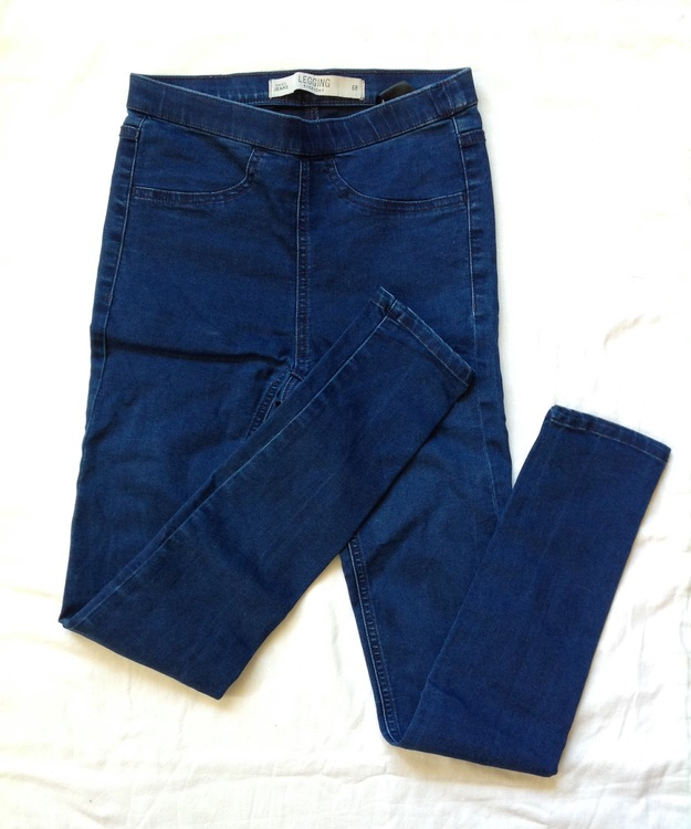 Jeansleggings stl 34