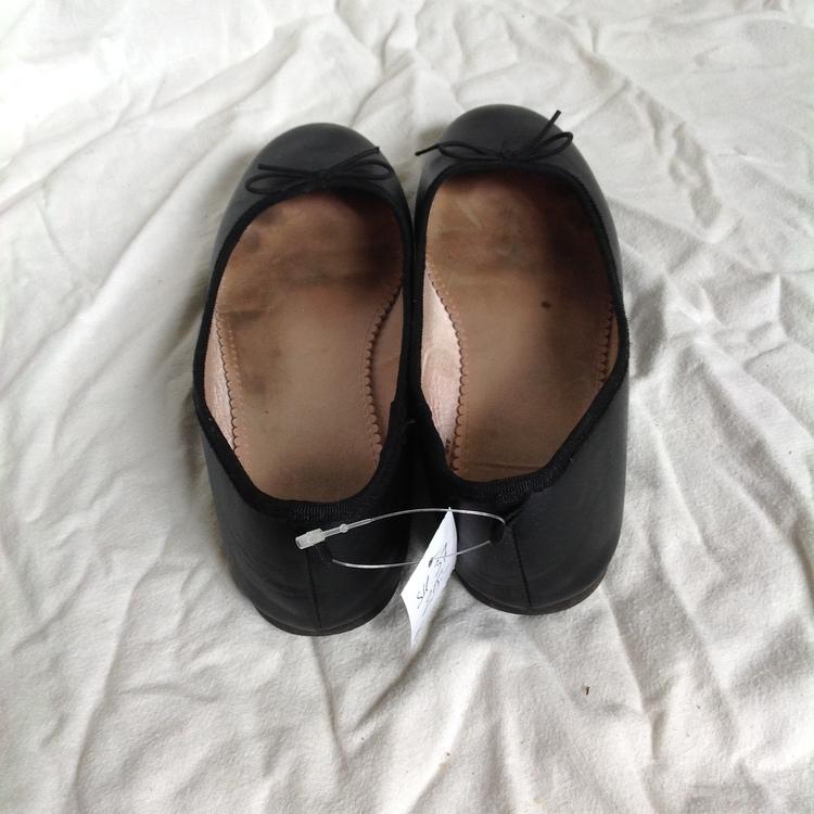 Svarta ballerinaskor stl 37