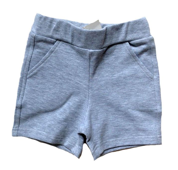 Grå shorts stl 62/68