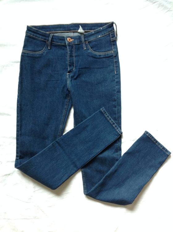 Blå jeans stl 170