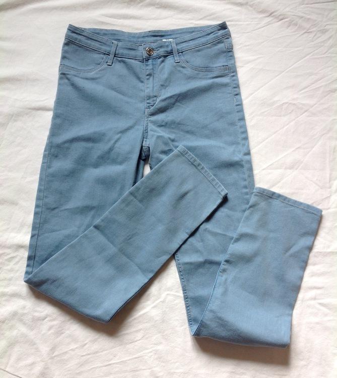 Ljusblå jeans stl 170