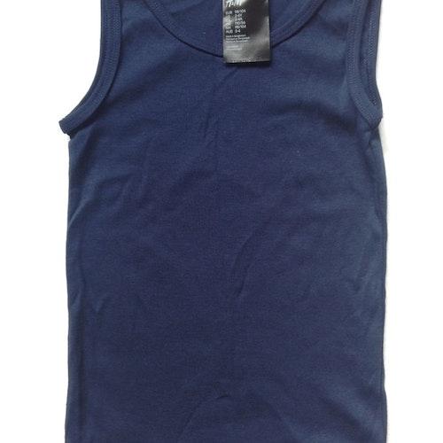 Blått linne stl 98/104