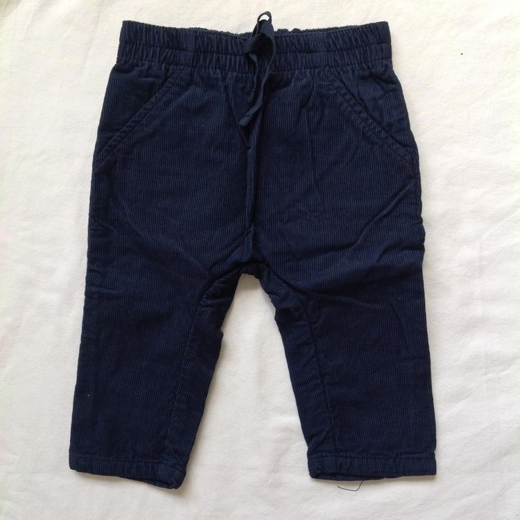 Blå byxor stl 68