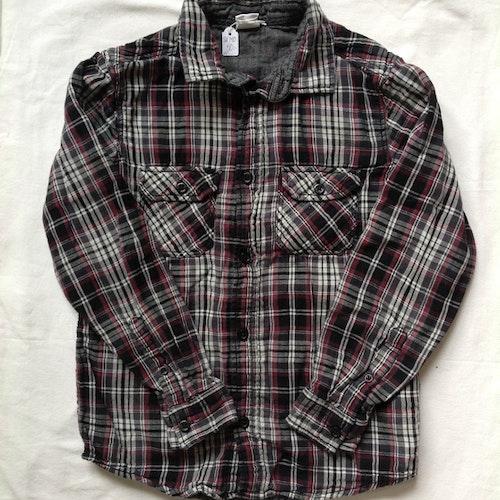 Rutig skjorta stl 140