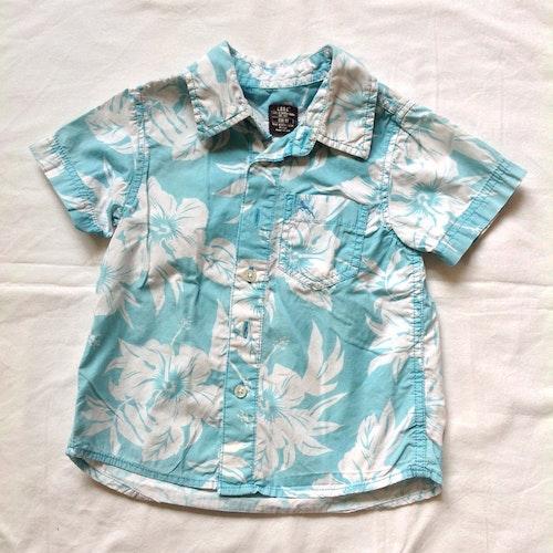 Blå skjorta stl 92