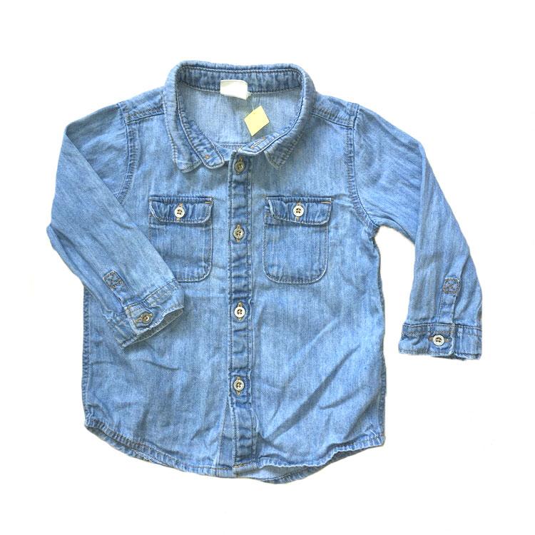 Jeansskjorta stl 74
