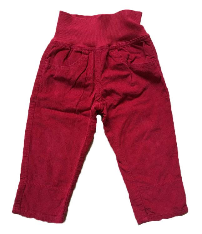 Röda byxor stl 74
