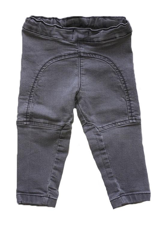 Grå jeans stl 80