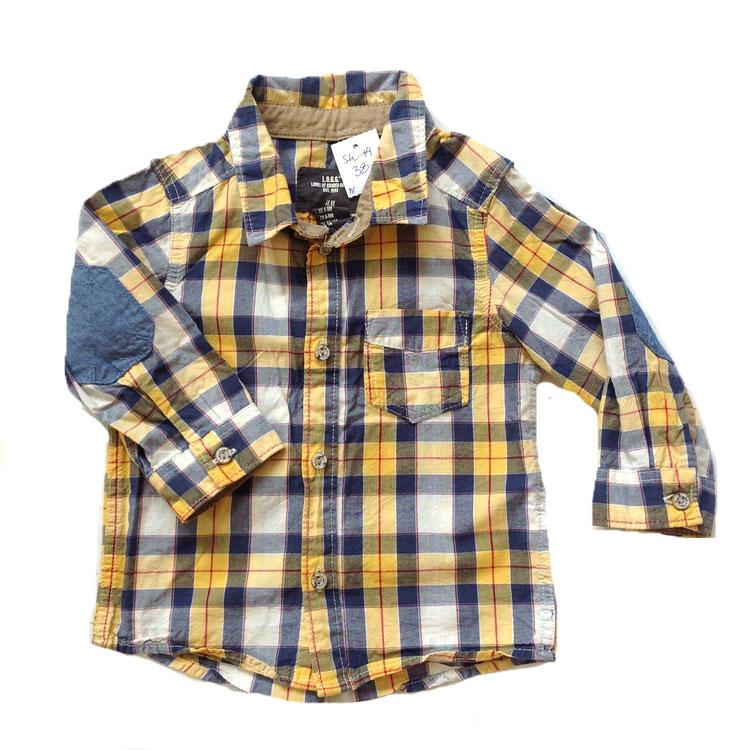 Rutig skjorta stl 74
