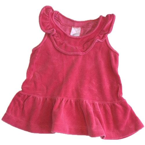 Rosa klänning stl 62/68