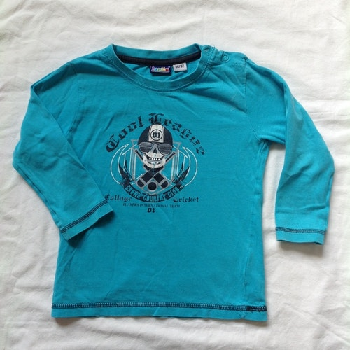 Blå tröja stl 86/92