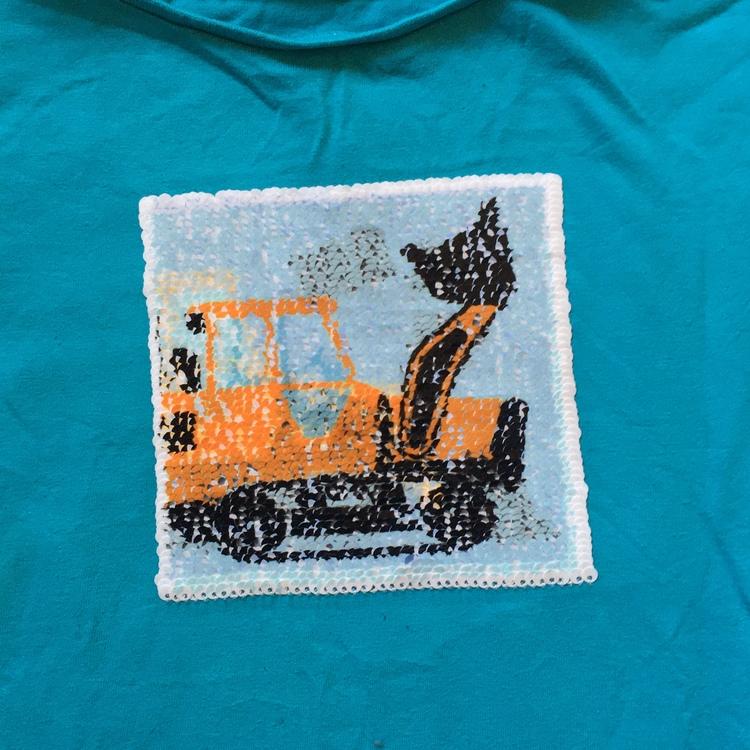 Turkos t-shirt stl 122/128