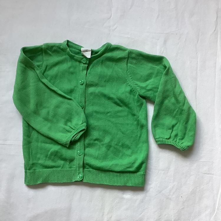 Grön kofta stl 80
