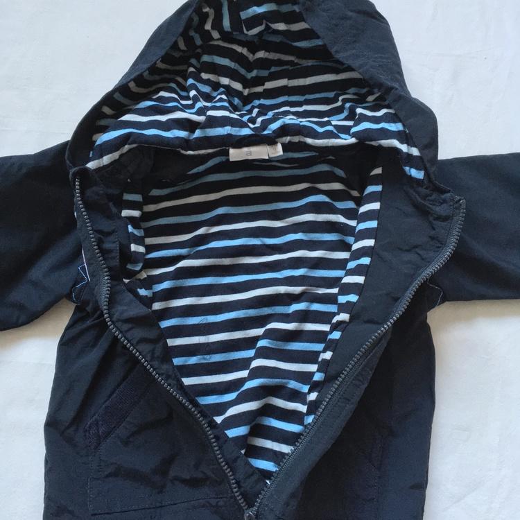 Blå jacka stl 74