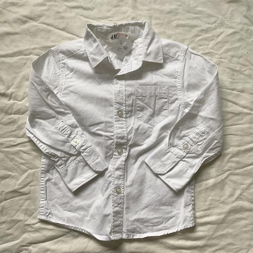 Vit skjorta stl 92