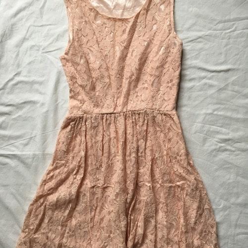 Rosa klänning stl M
