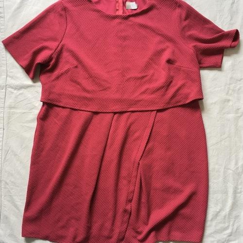 Rosa klänning stl 54