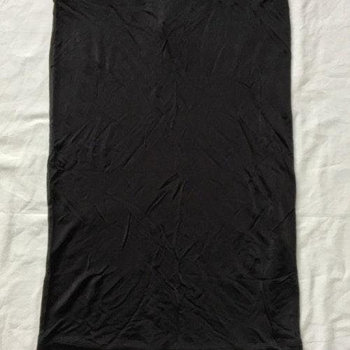 Svart kjol stl M