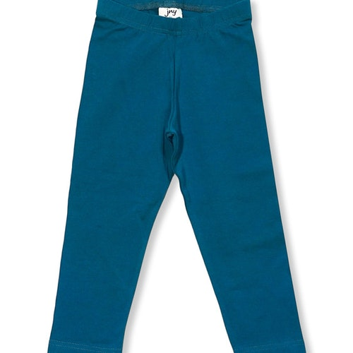 Blå leggings stl 80