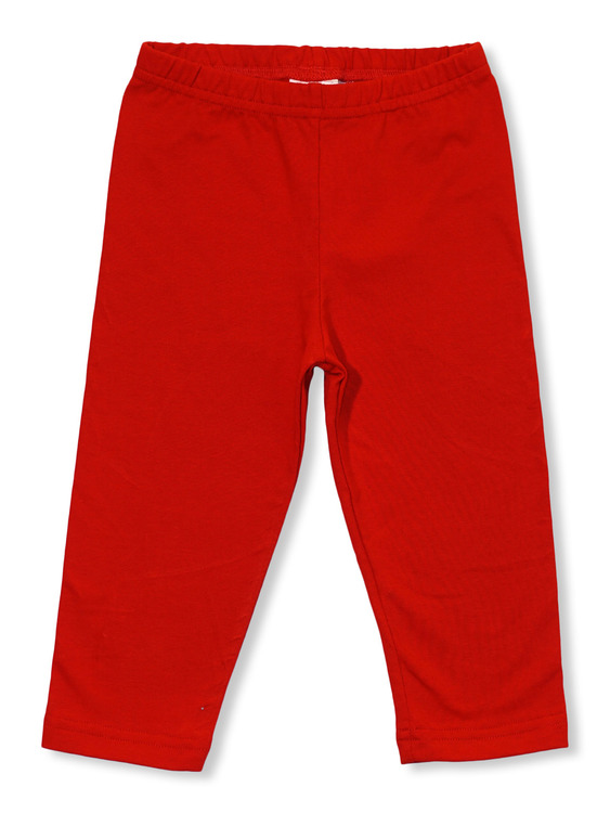 Röda capri leggings stl 74-92
