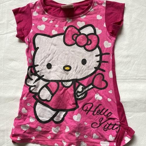 Rosa klänning Hello Kitty stl 86/92
