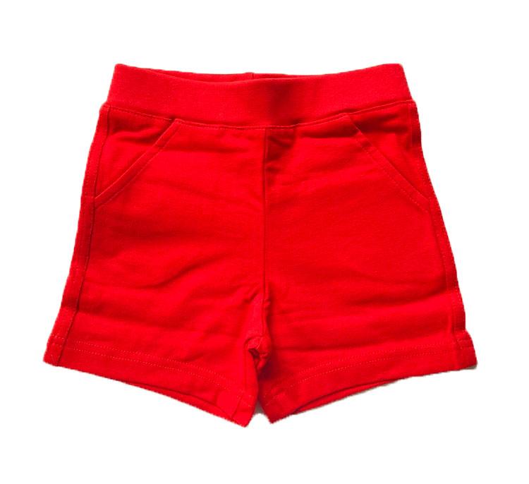 Röda shorts stl 62/68-74/80