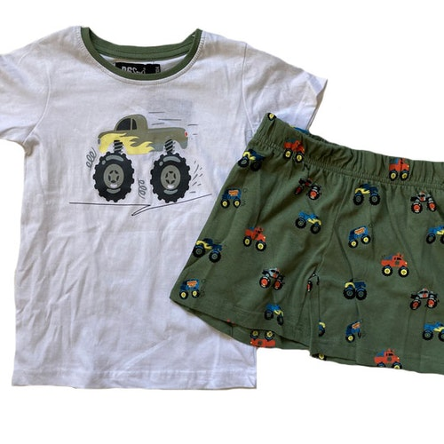 Pyjamas bilar stl 86-128