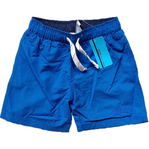 Badshorts blå stl 82/92-170