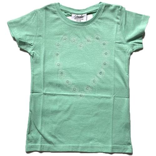 Grön t-shirt stl 122-164