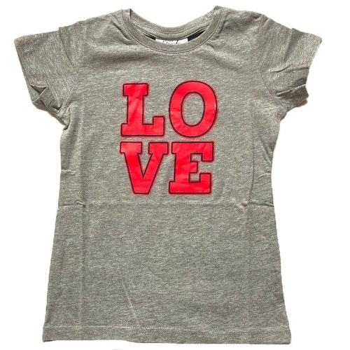 Grå t-shirt stl 122-164