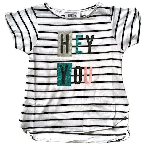 Randig t-shirt stl 122/128-170