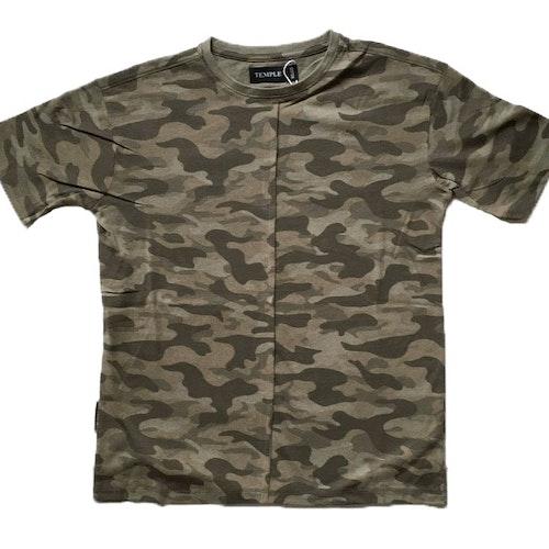 Grön t-shirt stl 122-170