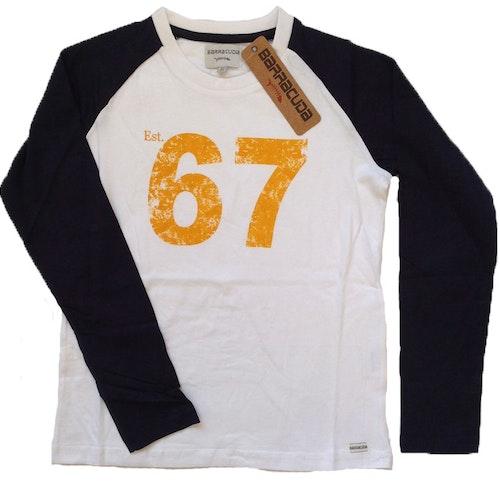 Vit tröja stl 122-164