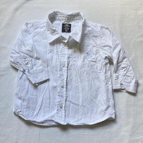 Vit skjorta stl 80