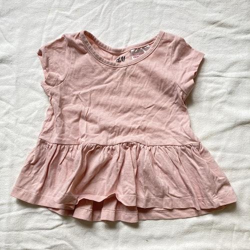 Rosa klänning stl 56