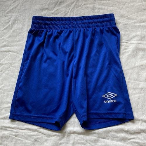 Blå shorts stl 140