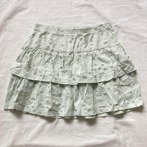 Mintgrön kjol stl 134/140