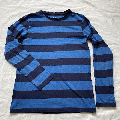 Blårandig tröja stl 146/152