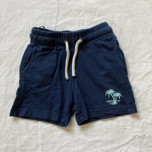 Blå shorts stl 86