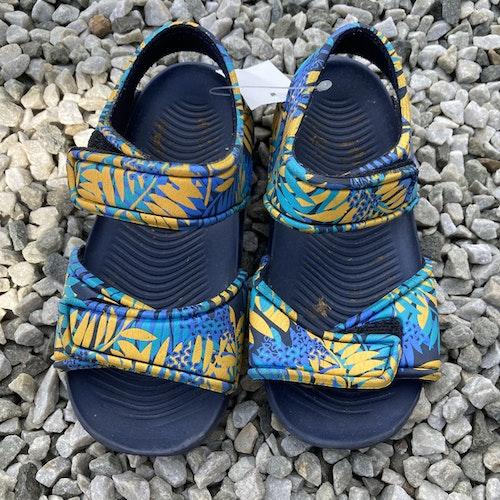 Blå sandaler stl 29